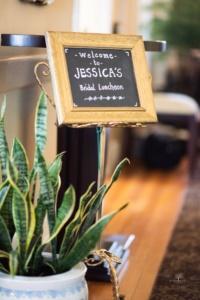 Bridal Shower Sign on Vintage Easel