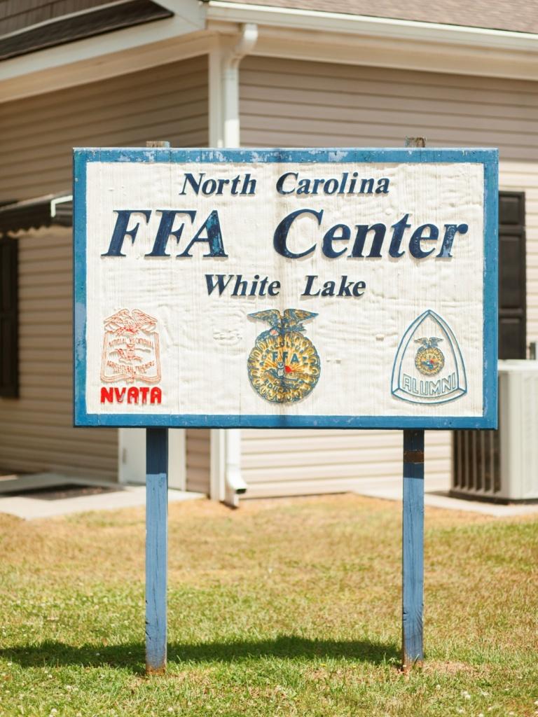 FFA Center Sign