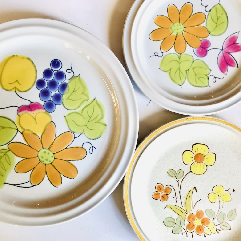 VIntage Stoneware Patterns