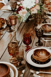 Birthday Dinner Tables