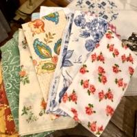 Vintage Patterned Napkins