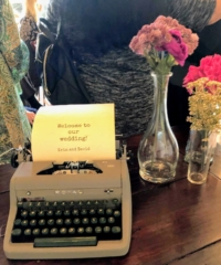 Vintage Typewriter Decor