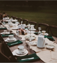 Vintage Teaparty Wedding Reception