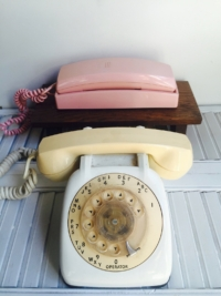 Pair of Vintage Telephones