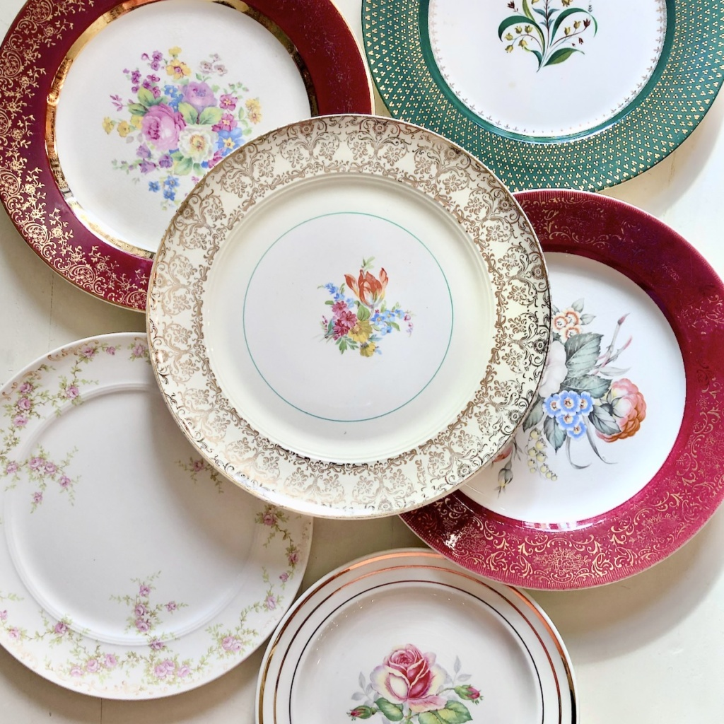 Collage of Salem China Patterns
