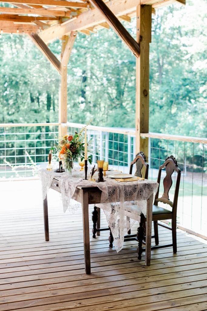 Vintage Sweetheart Table
