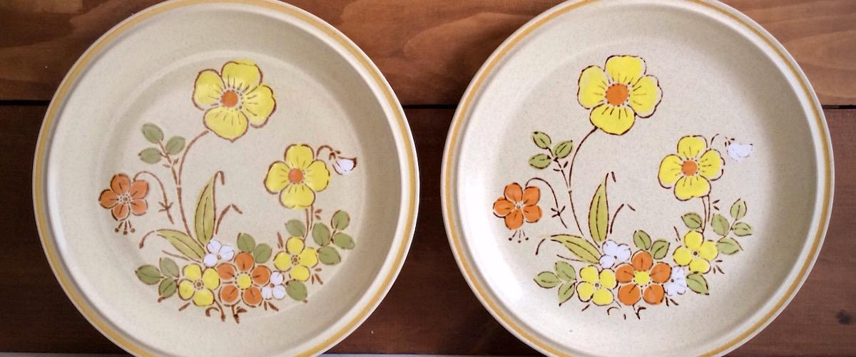 Vintage Wildflower Stoneware