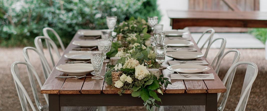 Vintage Reception Table