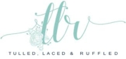 Tulled, Laced & Ruffled Logo