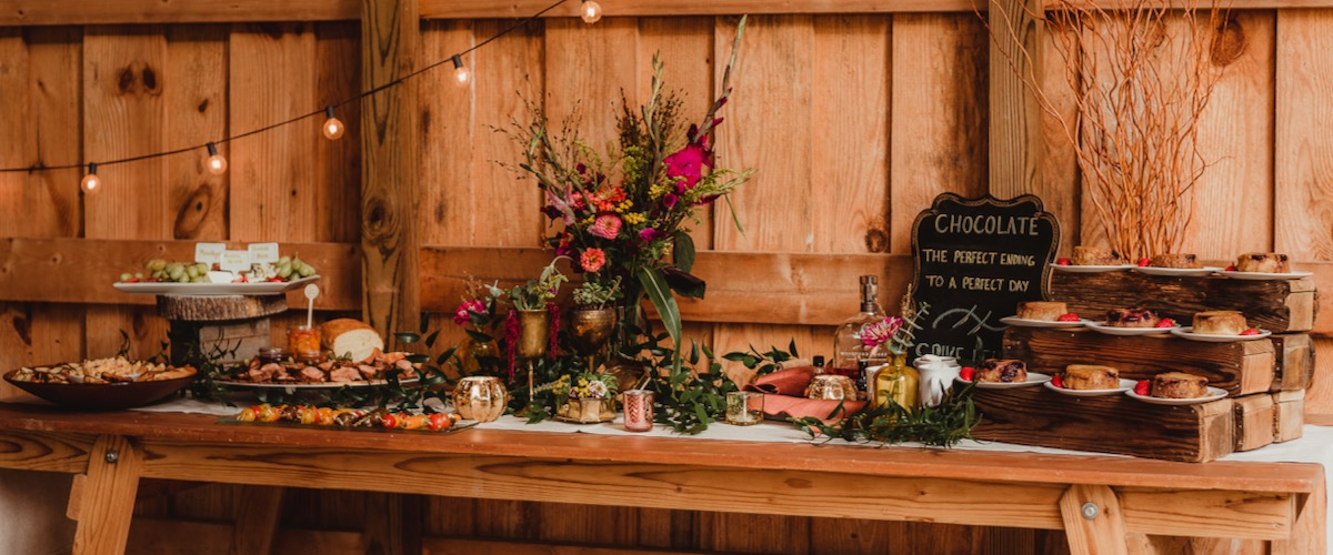 Boho Buffett Table