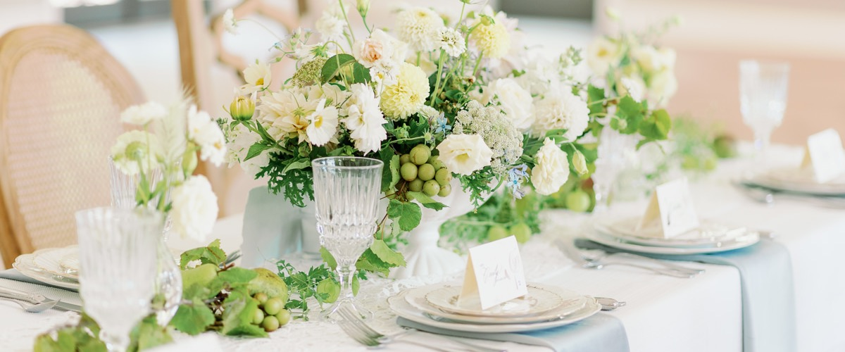 Elegant Vintage Table Setting