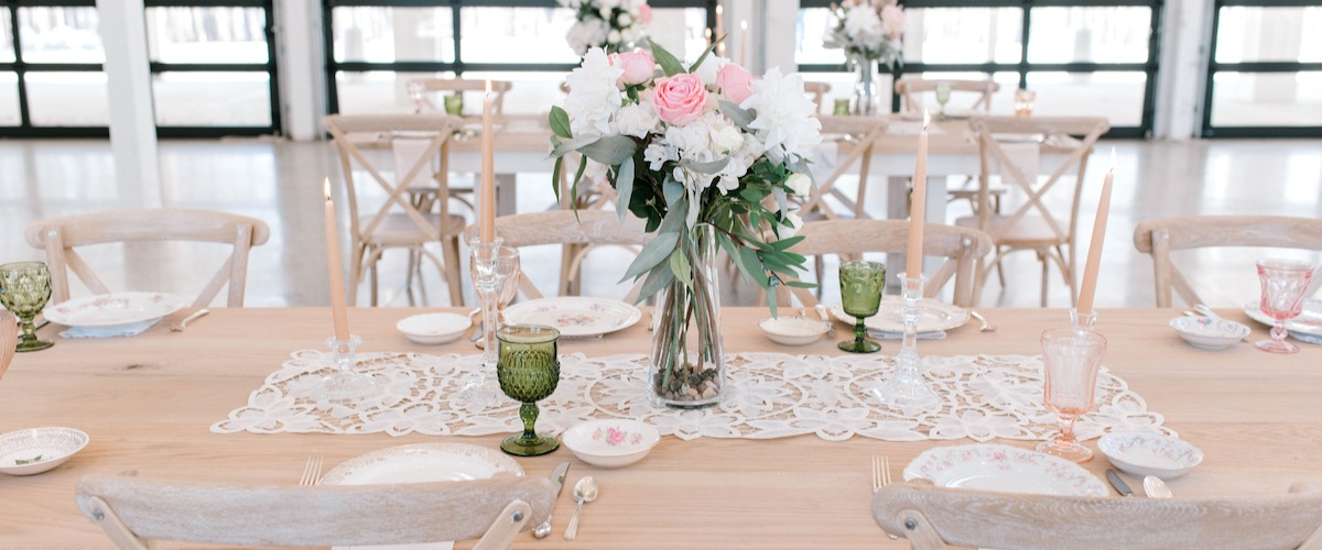 Vintage Wedding Reception Table