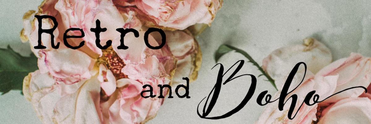 Retro and Boho Title