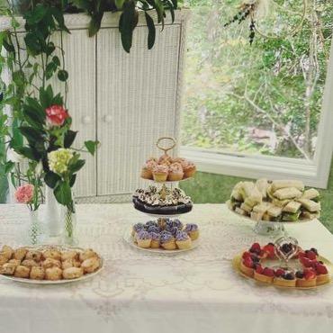Vintage Tea Party Serving Pieces