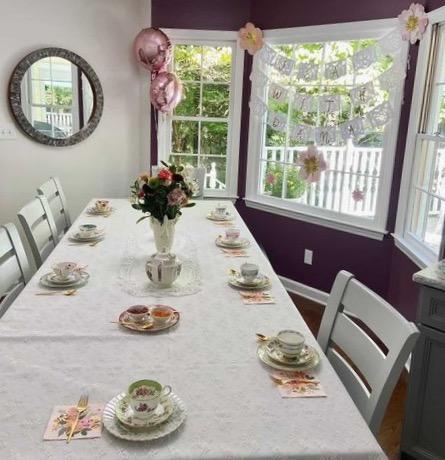 Vintage Tea Party Table