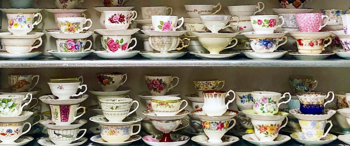 Vintage Tea Cups Rental NC